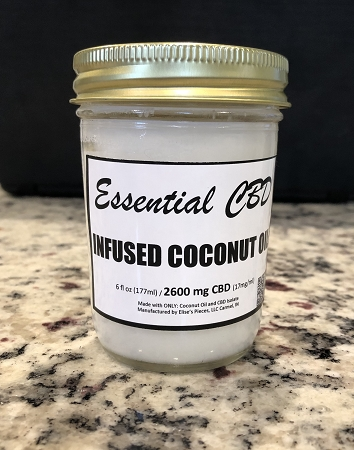 Essential CBD Infused Coconut Oil